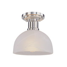 Z-Lite 314F-BN - 1 Light Flush Mount