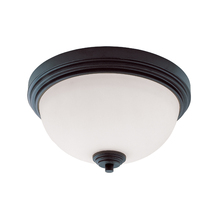 Z-Lite 314F2-BRZ - 2 Light Flush Mount
