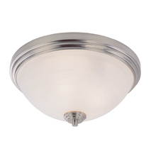 Z-Lite 314F3-BN - 3 Light Flush Mount