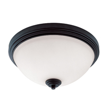 Z-Lite 314F3-BRZ - 3 Light Flush Mount