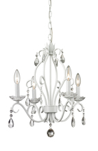 Z-Lite 423MW - 4 Light Mini Chandelier