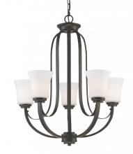 Z-Lite 7000-5BRZ - 5 Light Chandelier