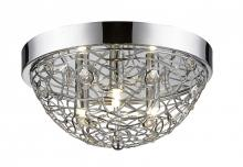 Z-Lite 889CHF12 - 3 Light Flush Mount Light