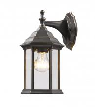 Z-Lite T21-ORB - 1 Light Outdoor Wall Light