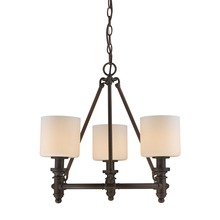Golden 2116-3 RBZ-OP - 3 Light Chandelier