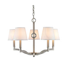 Golden 3500-5 PW-CWH - 5 Light Chandelier