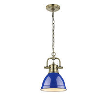 Golden 3602-M1L AB-BE - Mini Pendant with Chain