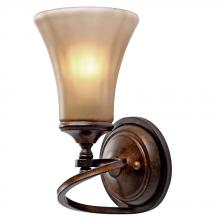 Golden 4002-1W RSB - 1 Light Wall Sconce