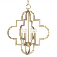 Capital 4541BG - 4 Light Pendant