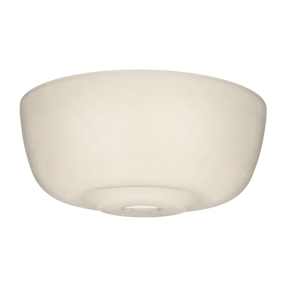 Transitional Shape Glass Bowl, Cased White