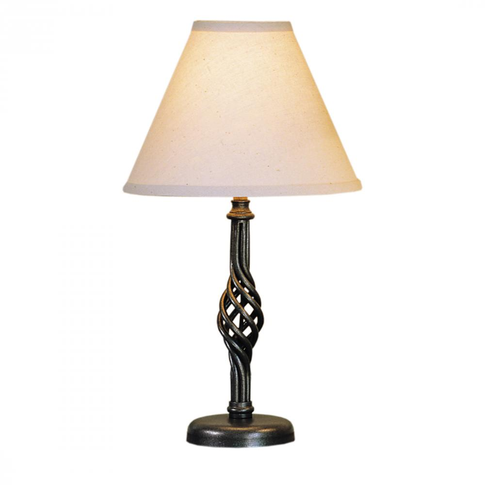 Twist Basket Small Table Lamp