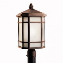 Kichler 11020PR - Outdoor Post Mt 1Lt Fl