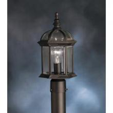 Kichler 9935BK - Outdoor Post Mt 1Lt